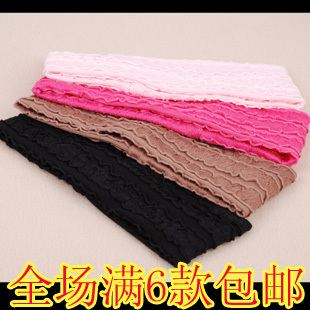 Girls stripe hairband of wave all-match yoga sports headband excellent elasticity of girls