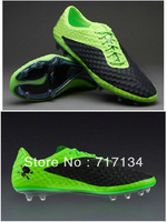 Free Shipping Original Edition 2014 Men's Football Shoes Newest Venom Outdoor Cleats Lime Black with White Tick 3colors Cheap