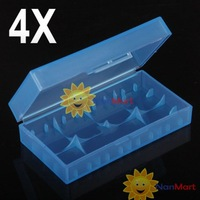 Free shipping: 4 X 18650 CR123A 16340 Battery Case Holder Box Storage wholesale