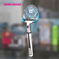 Suction cup razor rack razor holder suction cup shaver storage rack