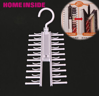 Novelty Rotatable Multifunction tie rack belt rack neckties hanging neckties Rack 1pcs/lot