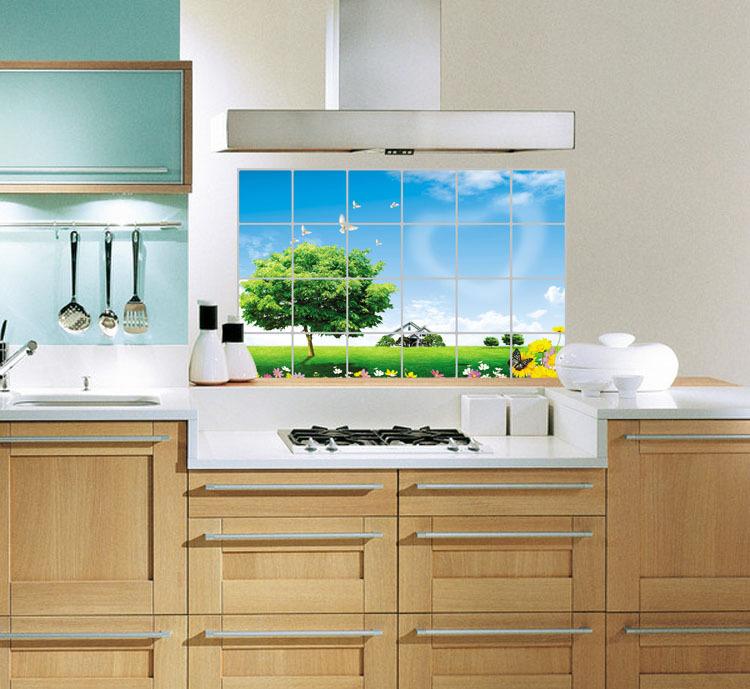 Decal dán tường phòng bếp trang trí góc nấu ăn thêm sành điệu