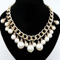 Min.order is $10(mix order )free shipping!2013 wholesale Fashion gorgeous fashion pearl elegant design short necklace