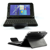 For samsung   tablet protective case  for SAMSUNG   p3100 protection holster 7 p3110 p6200 bluetooth keyboard