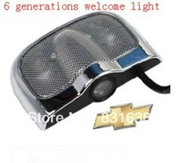 Wholesale new 6th generation Chevrolet cars welcome light car door lamp LED lights