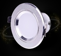 9W CE CREE LED downlight, AC85-265V,include the drive,dimmable warm white/cool white high power led lighting Free shipping