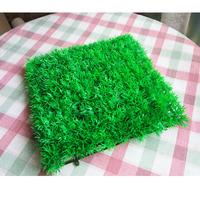 25*25cm artificial lawn plastic turf simulation lawn artificial fake grass carpet kindergarten roof balcony rug