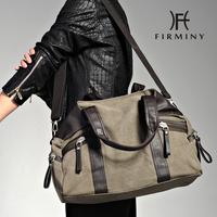 Fashion men canvas bag male shoulder bag handbag messenger bag