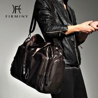Fashion male shoulder bag large capacity portable travel bag