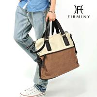 Fashion color block canvas big bag shoulder bag man bag handbag travel bag