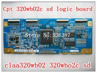 Free shipping! Cpt 320wb02c sd logic board claa320wb02 320wbo2c sd