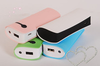 Free shipping!New wallet  5200mAh external Battery Power Bank portable with led light for iphones car Mobile phone cell phone