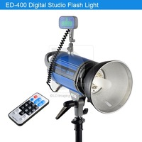 New 400W Remote Control Studio Strobe Flashlight Photographic Lighting ED400 220V 017310 Free Shipping