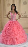 2013 New Arrival A-line Beading Organza Quinceanera Dresses OQ209
