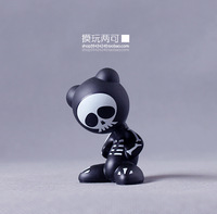 Fingers ! d . kids - black skull magnetic the trend of the doll