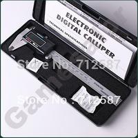 "150 mm 6"" Digital CALIPER VERNIER GAUGE MICROMETER #9717 free shipping"