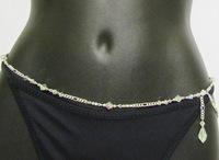 Free Shipping Hot Super Sexy Body Waist Chain Fashion Girl On The Teach Scene Body Jewelry,Hand Made  Jewelry