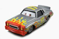 Free shipping Pixar Cars 2 Metal Darrell Cartrip #17 Piston Metal Diecast Toy loose
