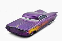 Free shipping Original Pixar Cars 2 RADIATOR SPRINGS RAMONE Purple Metal Diecast figure Toy loose