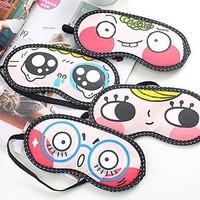 2pcs/lot The sleeping eye mask shade nap cover blindfold sleeping eyeshade for Travel Rest free shipping
