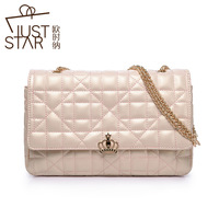 Free Shipping Brand Fashion Series Lock Spiraea Designers Chain Dual-use Ladies Clutch Bags 2013 for Women Handbag