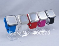 Free shipping new arrival 1.44 inch 5 colors full touch watch mobile phone,ultra-thin watches mobile phone j2 fashion