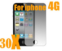 30 X Clear Screen Protector with Cleaning Cloth Film For IPHONE 4S 4 4G Gen OS,30pcs/lot