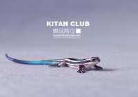 Free shopping Kitanclub primaries animal lizard realistic model - blue lizard 1/1 10cm
