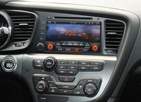Kia K5 DVD GPS in wholesale & retail;ARM11 WinCE OS;2 DIN WVGA TFT LCD;Touch screen;Steering Wheel Control;