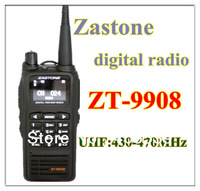 free shipping 2013 new launch Zastone ZT-9908 DPMR Digital Standard walkie talkie  UHF:430-470MHz Handheld Two Way Radio ZT9908