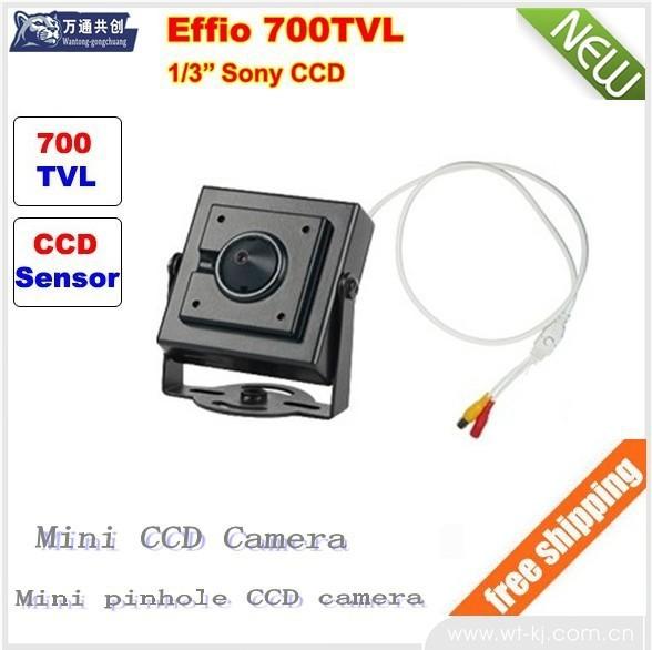 Professional HD 700TVL 3.7mm CCD CCTV Security Video Camera(China (Mainland))