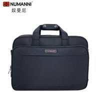 DHL Free Shipping NUMNANNI High Quality Man Commercial Travel Briefcase Large Capacity Shoulder Bag black Business Laptop bag