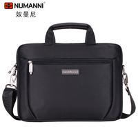 High Quality Kpop Name Brand Designer Laptop Man Bag 12 Notebook Commercial Briefcase Male Shoulder Bag Oxford Fabric
