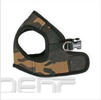 FREE SHIPPING  Adjustable XL Size Camo Soft Comfortable Pet Puppy Dog Mesh Vest Harness