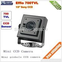 CCD 700TVL High-Line Pinhole Camera CCTV HD Security Camera Mini Secuty camera Free shipping!