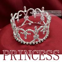 Wholesale tiaras rhinestone bridal princess wedding hairwear crown tiara FC0010