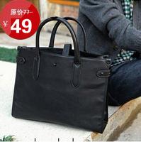 2013 business casual man bag vintage male briefcase handbag messenger bag