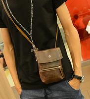2013 one shoulder cross-body bag small fashion bag vintage women's male bag messenger bag