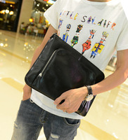 Male clutch commercial envelope bag male bags fashion day clutch file bag large briefcase