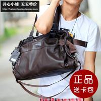 Male handbag messenger bag man bag lather-bag travel bag casual bag