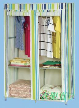 Plus size type simple wardrobe luxury wardrobe folding wardrobe