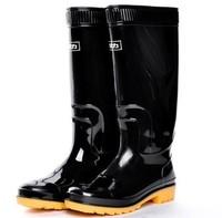 Free shipping: fishing boots Men rainboots slip-resistant rain shoes knee-high waterproof work boot