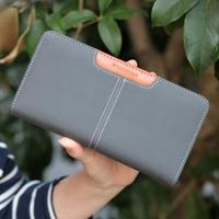 Long design women's wallet women's wallet candy color 2013