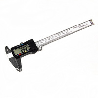 """6"""" 150 mm Digital Vernier Caliper Micrometer Guage Widescreen Electronic Accurately Measuring Stainless Steel Free Shipping 9792"""