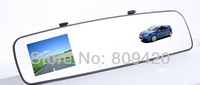 New Bluetooth Handsfree HD Car Rear View Mirror Camera DVR Car Blackbox with G-sensor,Free Shipping