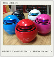 Free shipping fashion wireless speaker for computer,ipod,iphone and smart phone support bluetooth+ card (TF USB FM AUX)(D600)