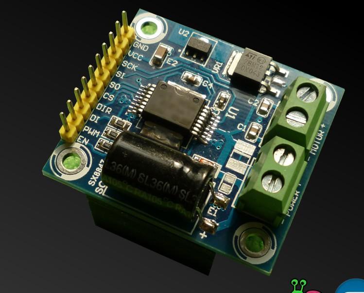 Arduino Operating TA8050 H-Bridge Motor Controller