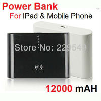 12000mAh External Battery Backup Power Bank Portable Charger For ipod ipad iPhone Nokia Samsung Free Shipping