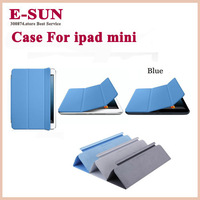 New Slim Table Stand Case Magnetic PU Leather Smart Cover Case For iPad mini Free Shipping