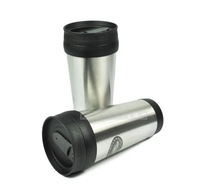 Outdoor stainless steel 410ml coffee cup glass california innovations outdoor water bottle water bottle